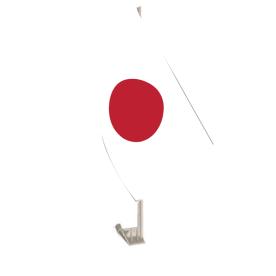 Japan Car Flag