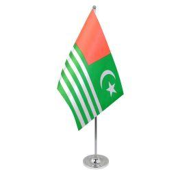 Kashmir table flag satin