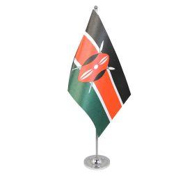 Kenya table flag satin