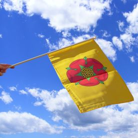 Lancashire Hand Waving Flag