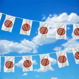 Lancashire Old Flag Bunting