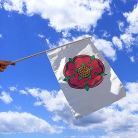 Lancashire Old Hand Waving Flag