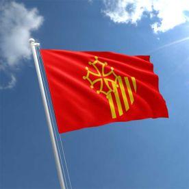 Languedoc Roussillon flag 5ft x 3ft