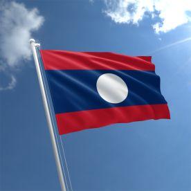 Laos Flag 3Ft X 2Ft