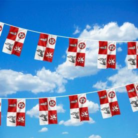 Leicestershire Flag Bunting