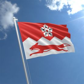 Leicestershire Flag 5Ft X 3Ft