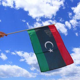 Libya Hand Waving Flag