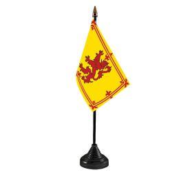 Lion Rampant Table Flag