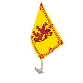 Lion Rampant Car Flag