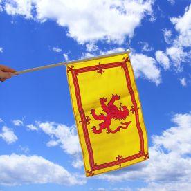 Lion Rampant (Scotland) Hand Waving Flag
