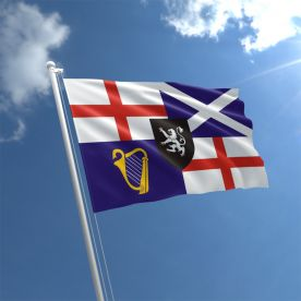 Lord Protector'S Banner & Command Flag