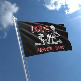 Love Never Dies Flag 5ft x 3ft