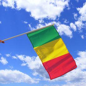 Mali Hand Waving Flag