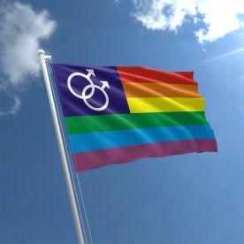 Rainbow Mars Flag