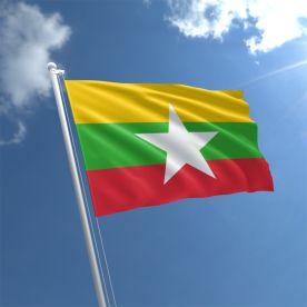 Myanmar Flag 3Ft X 2Ft