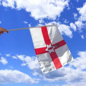 Northern Ireland Hand Waving Flag