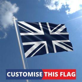 Custom Navy Blue Union Jack Flag