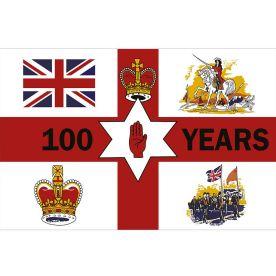 Northern Ireland Centenary Flag 8ft x 5ft