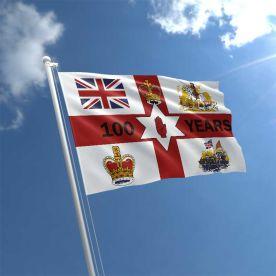 Northern Ireland Centenary Flag 5Ft X 3Ft