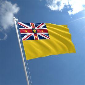 Niue Flag 3Ft X 2Ft