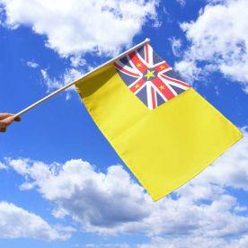 Niue Hand Flag