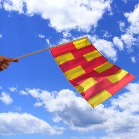 Northumberland Hand Waving Flag