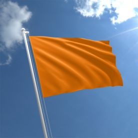 Plain Orange Flag - Nylon