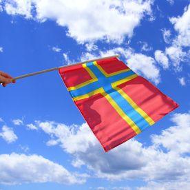 Orkney Hand Waving Flag