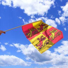 Owain Glyndwr Hand Waving Flag