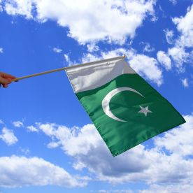 Pakistan Hand Waving Flag