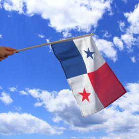 Panama Hand Waving Flag