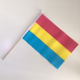 Small Pansexual hand flag