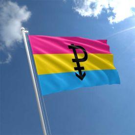 Pansexual Symbol Flag