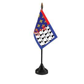 Pays De La Loire Table Flag Budget
