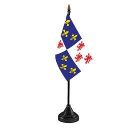Picardy Table Flag