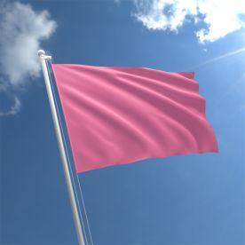 Plain Pink Flag - Nylon