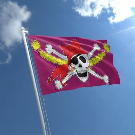 Pirate Girl Flag