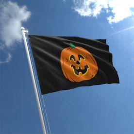 Halloween Pumpkin Flag