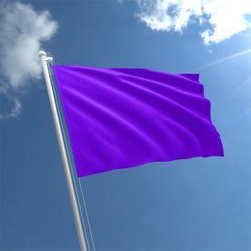 Plain Purple Flag - Nylon