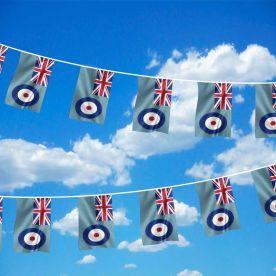 RAF bunting