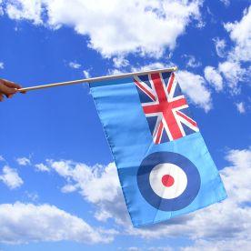 RAF Hand Waving Flag