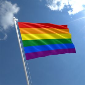 LGBT flag Rope & Toggle