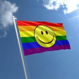 Rainbow Smile Flag