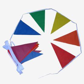 Rainbow Triangular Bunting