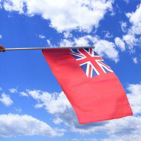 Merchant Navy Hand Waving Flag
