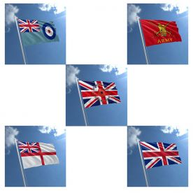 Remembrance Day Flags