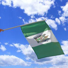 Rhodesia Hand Waving Flag