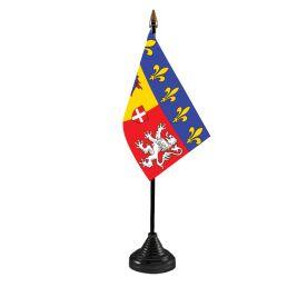 Rhone Alpes Table Flag