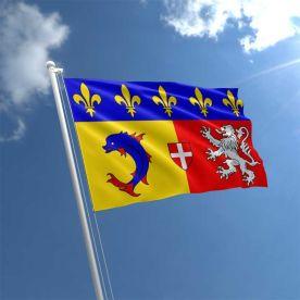 Rhone Alpes Flag