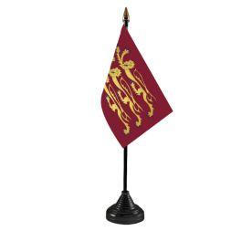 Richard The Lionheart Table flag